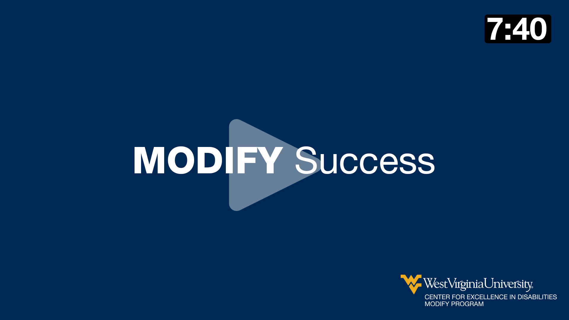 MODIFY Success