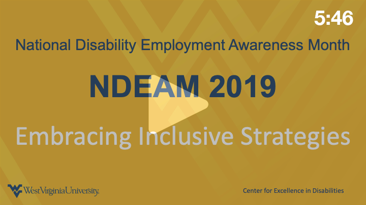 NDEAM Embracing Inclusive Strategies